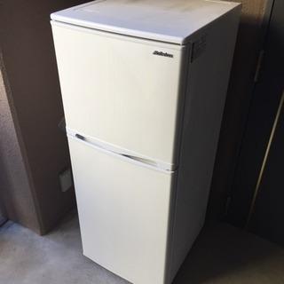 【美品】2016年製 2ドア冷蔵庫 138リットル 完動品