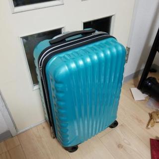 スーツケース ブルーグリーン Mサイズ