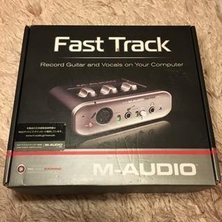 オーディオインターフェース&Pro Tools