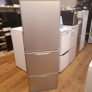 [安心の6ヶ月保証] 350L SHARP〈シャープ〉3ドア冷蔵庫...