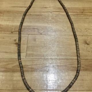 木製ネックレス