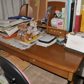 学習机 イス 袖机 付属 綺麗です。