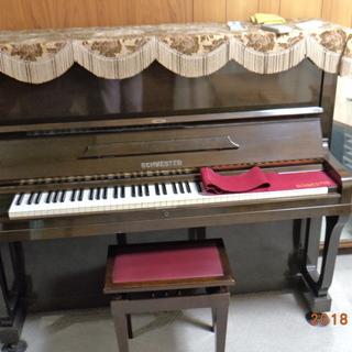 シュベスター製アップライトピアノ