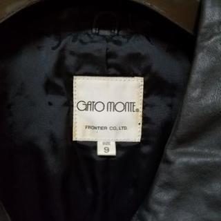 GATO MONTE レザージャケット - 服/ファッション
