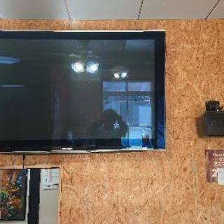 壁掛け式50インチ大型プラズマTV
