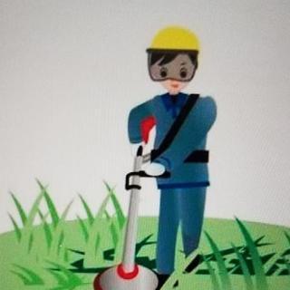 草刈り、除草作業、伐採、他