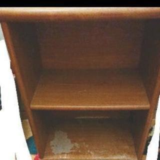 インテリア ペイント用 家具 二段ボックス 木製