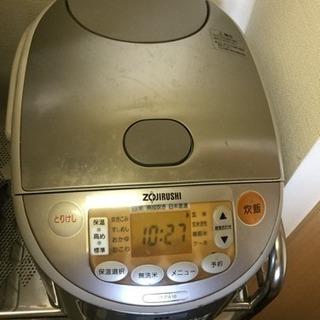 象印 10合炊き 炊飯器IH 高力でふっくら美味しく。