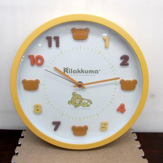 Rilakkuma/リラックマ 掛け時計 直径30cm