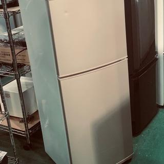モリタ 2ドア冷蔵庫 2011年 MR-F140D 140L 中古