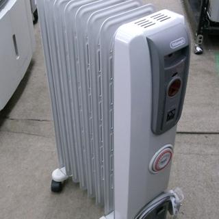 札幌 美品 デロンギ オイルヒーター H770812EFS 暖房器...