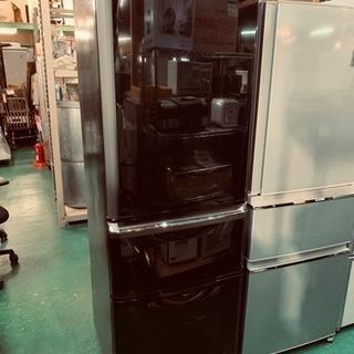 三菱 3ドア冷蔵庫 2015年 370L MR-C37Y-B 中古