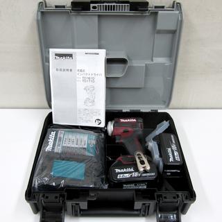 マキタ 18V充電式インパクトドライバー 6.0Ah 新品 TD1...