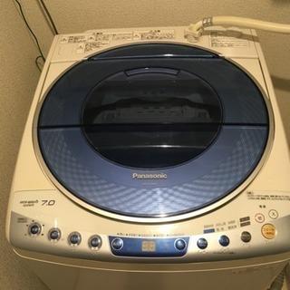 中古洗濯機 パナソニックNA-FS70H3 2012年製