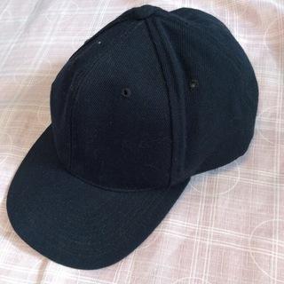 黒 帽子  キャップ