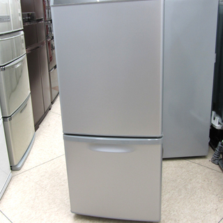 パナソニック 138L 1~2人暮らしサイズ 2ドア冷蔵庫 シルバ...