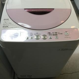 【送料無料・設置無料サービス有り】洗濯機 SHARP ES-G4E...