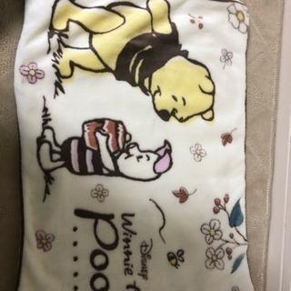 プーさんの枕カバー