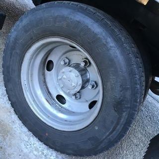 トラック タイヤ交換 場所、機材貸出 作業はご自分で