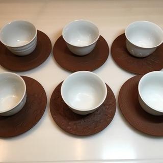 🔵マイセン🔵 レリーフ煎茶器 6客セット