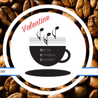 ラテアートコーヒーとチョコとコンサート [UNITE! COFFE...