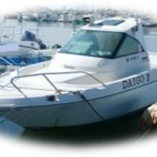 酒田港 船遊び募集!免許無くてもOKです!