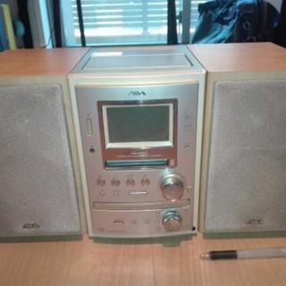 【受け渡し調整中】CD・MDコンポ XR-MJ10