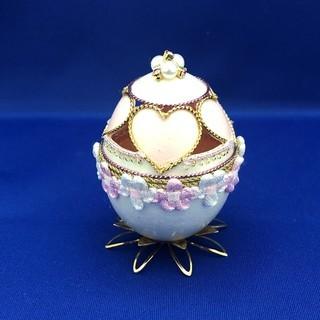 日本橋 ワークショップ 「エッグアート ハートの宝石箱」