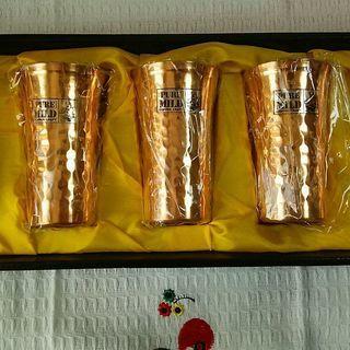 銅製のコップ(PURE MILD COPPER CRAFT)