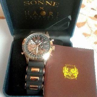 ゾンネ 手巻き 腕時計