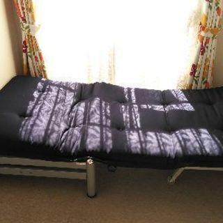 ニトリ 折り畳みソファベッド 美品