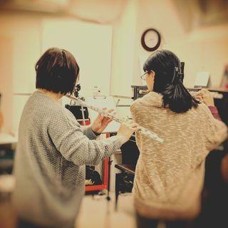 音楽屋COZYのフルートレッスン フルート教室を奈良でお探しなら 近鉄新大宮駅 徒歩1分 - 奈良市
