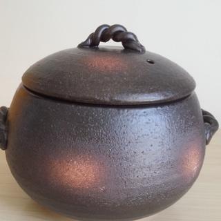 新品 萬古焼 みすずのご飯鍋  3合炊き