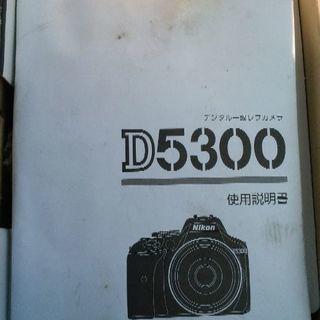 ⚠本日中⚠NIKON d5300 激安!28000円