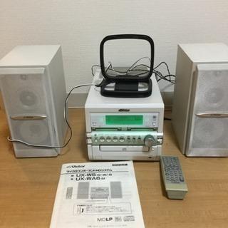 ビクターCD、MDコンポ 備品マイクロコンポーネントMDシステム