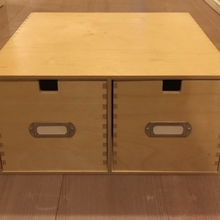 IKEA 木製 小物入れ 美品