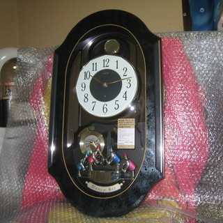 SEIKO EMBLEM HS348A からくり時計 (美品)