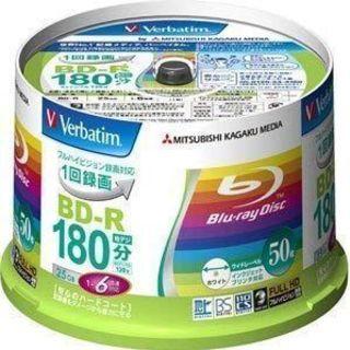 バーベイタム 6倍速対応BD-R 50枚パック 25GB ホワイ...