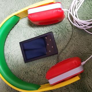 ヘッドホン+8GBオーディオプレーヤー