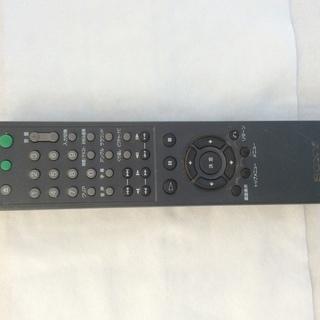 ソニー DVDレコーダー  RMT-D152J リモコン