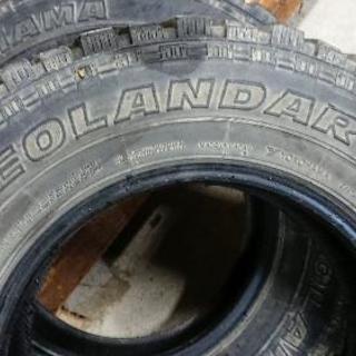 GEOLANDAR MT 6.50R16 4本セット ジムニー