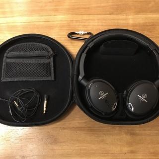 audio technica  ノイズキャンセリング ヘッドホン