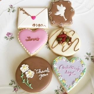 バレンタインアイシングクッキー教室♡