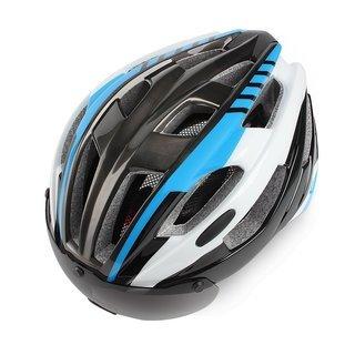 自転車ヘルメット 大人用 57-63cm調整可能 超軽量 EPS...