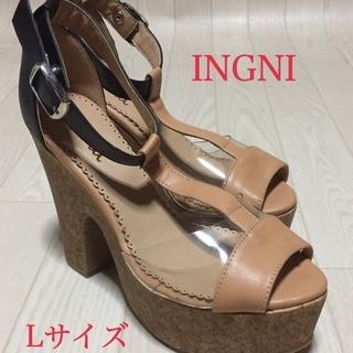 ◆美品◆足長に見える!人気 INGNI イング パンプス 靴  サ...