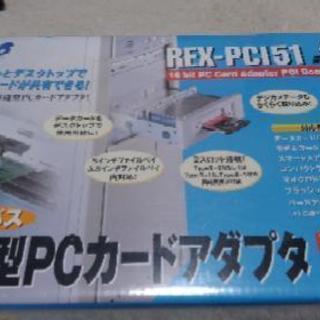 内蔵型PCカードアダプタ REX-PCI51