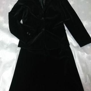 レディースにofuonオフオンレディーススーツ/スウェード調美品