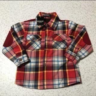 値下げ!新品 PolGen チェックシャツ 110センチ