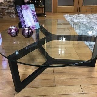 【美品】ガラステーブル ⭐︎センターテーブル ⭐︎ローテーブル