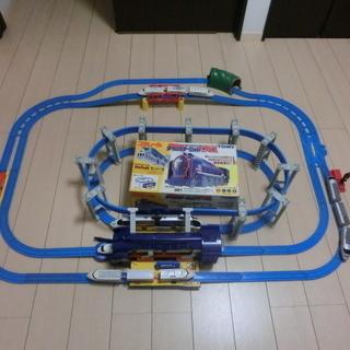 プラレール 約120点 懸垂式モノレールD51と新幹線車両5点セット